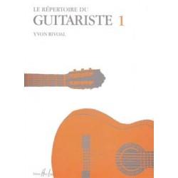 Yvon Rivoal - Répertoire du Guitariste Vol.1 - Recueil