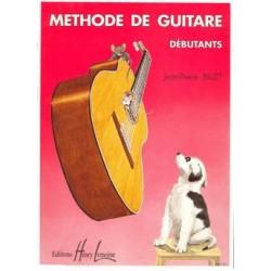 Jean-Pierre Billet - Méthode de guitare débutants - Recueil