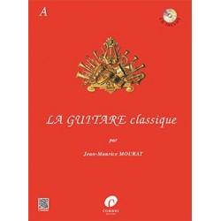 Jean-Maurice Mourat - La Guitare Classique A - Recueil + CD