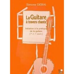 Simone Derai - La Guitare à travers chants - Recueil