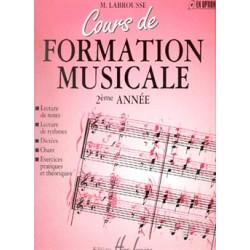 Marguerite Labrousse - Cours de formation musicale Vol.2 - Recueil