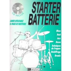 Patrick Billaudy - Starter batterie Vol.1 - Recueil + CD