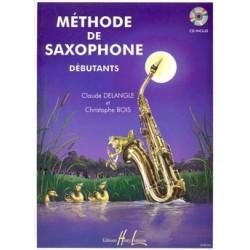 Claude Delangle - Méthode de saxophone pour débutants - Recueil + CD