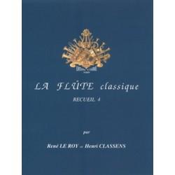 René le Roy - La Flûte classique Vol.4 - Recueil