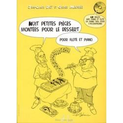 Gérard Meunier/Jean-Claude Diot - Petites pièces montées pour le dessert (8) - Recueil + CD