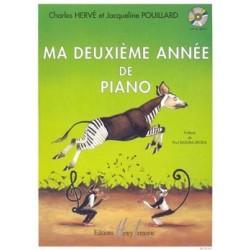 Charles Hervé/Jacqueline Pouillard - Ma Deuxième Année de Piano - Recueil