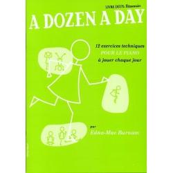 Edna-Mae Burnam - A Dozen A Day Livre 2 (FR) - Élémentaire Piano - Recueil
