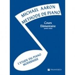 Michael Aaron - Méthode de Piano - Cours Élémentaire 1er Volume - Recueil