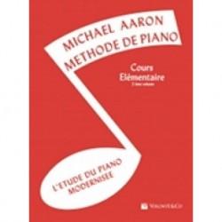 Michael Aaron - Méthode de Piano - Cours Élémentaire 2ème Volume - Recueil