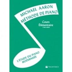 Michael Aaron - Méthode de Piano - Cours Élémentaire 3ème Volume - Recueil