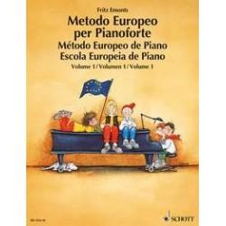 Fritz Emonts - Metodo Europeo per Pianoforte 1 - Recueil