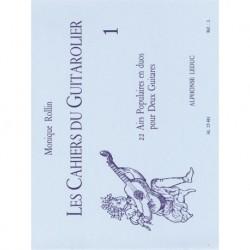 Monique Rollin - Les Cahiers Du Guitarolier Volume 1 - Conducteur