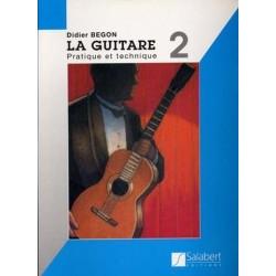 Didier Begon - La Guitare Volume 2 - Recueil