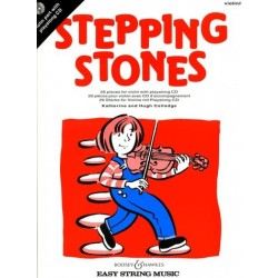 Hugh Colledge/Katherine Colledge - Stepping Stones Violin - Recueil + CD