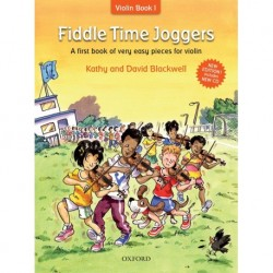 Kathy and David Blackwell - Fiddle Time Joggers - Revised Edition Violin - Recueil + CD