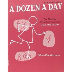 A Dozen a Day Book 3: Transitional Piano - Recueil