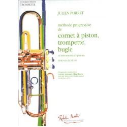 Julien Porret - Méthode Progressive Trumpet - Recueil
