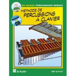 Gert Bomhof - Méthode de Percussions à Clavier 1 - Recueil + CD