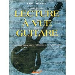 Eric Boell - Lecture à vue Guitare - Recueil