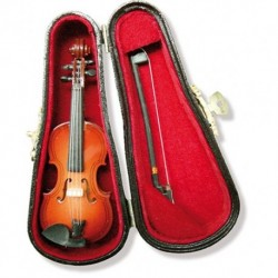 Miniature Violin In Case 7.62CM - Décoration