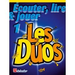 Écouter, Lire & Jouer 1 - Les Duos Alto- / Baritone Saxophone - Recueil