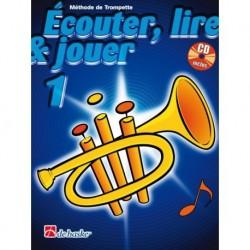 Jean Castelain/Michiel Oldenkamp - Écouter, Lire & Jouer 1 Trompette - Recueil + CD