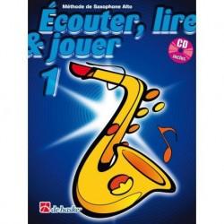 Jean Castelain/Michiel Oldenkamp - Écouter, Lire & Jouer 1 Saxophone Alto - Recueil + CD
