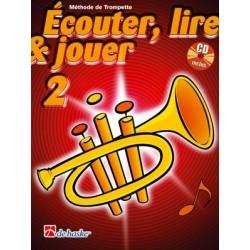 Jean Castelain/Michiel Oldenkamp - Écouter, Lire & Jouer 2 Trompette - Recueil + CD