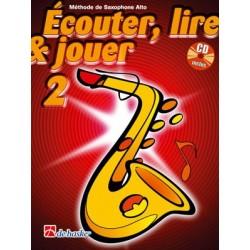 Jean Castelain/Michiel Oldenkamp - Écouter, Lire & Jouer 2 Saxophone Alto - Recueil + CD