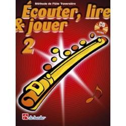 Jean Castelain/Michiel Oldenkamp - Écouter, Lire & Jouer 2 Flûte Traversière - Recueil + CD
