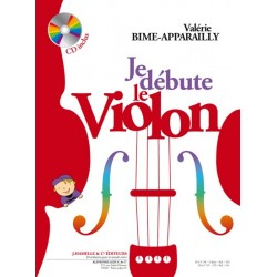 Valerie Bime-Apparailly/Apparailly - Je Débute le Violon - vol. 1 - Recueil + CD