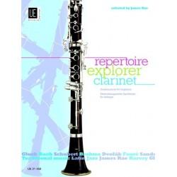 Repertoire Explorer Clarinet - Recueil
