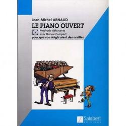 Jean-Michel Arnaud - Le Piano Ouvert Piano - Recueil + CD