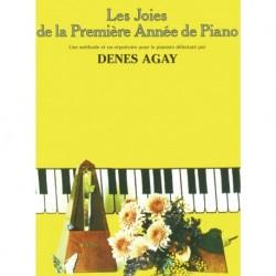 Denes Agay - Les Joies de la Première Année de Piano - Recueil