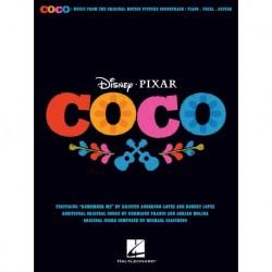 Kristen Anderson-Lopez/Germaine Franco/Adrian Molina - Disney/Pixar's Coco Piano, Vocal and Guitar - Recueil