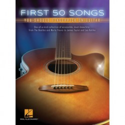 First 50 Songs You Should Fingerpick on Guitar - Recueil