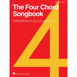 The Four Chord Songbook Piano, Vocal and Guitar - Recueil