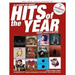 Hits Of The Year 2017: PVG Piano, Vocal and Guitar - Recueil