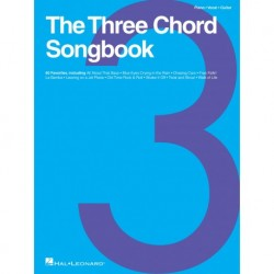 The Three Chord Songbook Piano, Vocal and Guitar - Recueil