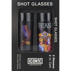 Santana - 2-Piece Shot Glass Set - Verres