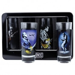 Joe Bonamassa 4-Piece Shot Glass Set -Lithos 1 & 2 - Verres