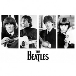 The Beatles - Early Portraits - Wall Poster - Affiche