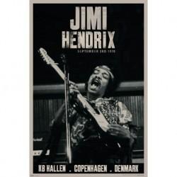 Jimi Hendrix - Live Copenhagen - Wall Poster - Affiche