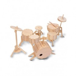 Quay Woodcraft Construction Kit Drums - MODELS