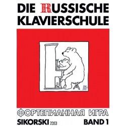 Die Russische Klavierschule Band 1 Piano - Recueil