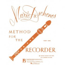 Mario Duschenes - Method for the Recorder - Part 1 - Recueil