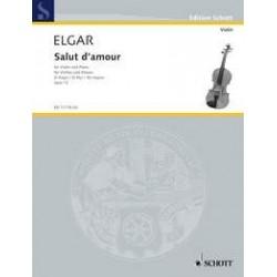 Edward Elgar - Salut D'Amour Violon et Piano - Recueil