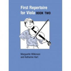 Wilkinson-Hart - First Repertoire For Viola 2 - Recueil