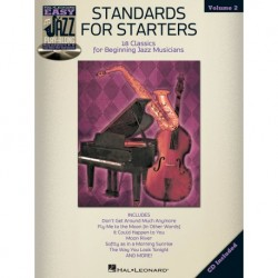 Standards for Starters Flute, Violin, Guitar, Clarinet, Trumpet, Saxophone, Trombone, Chords - Recueil + CD
