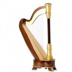 Music box Harp - Décoration